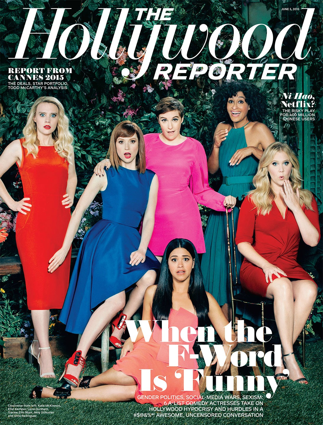 Female comedians talk sexism with The Hollywood Reporter