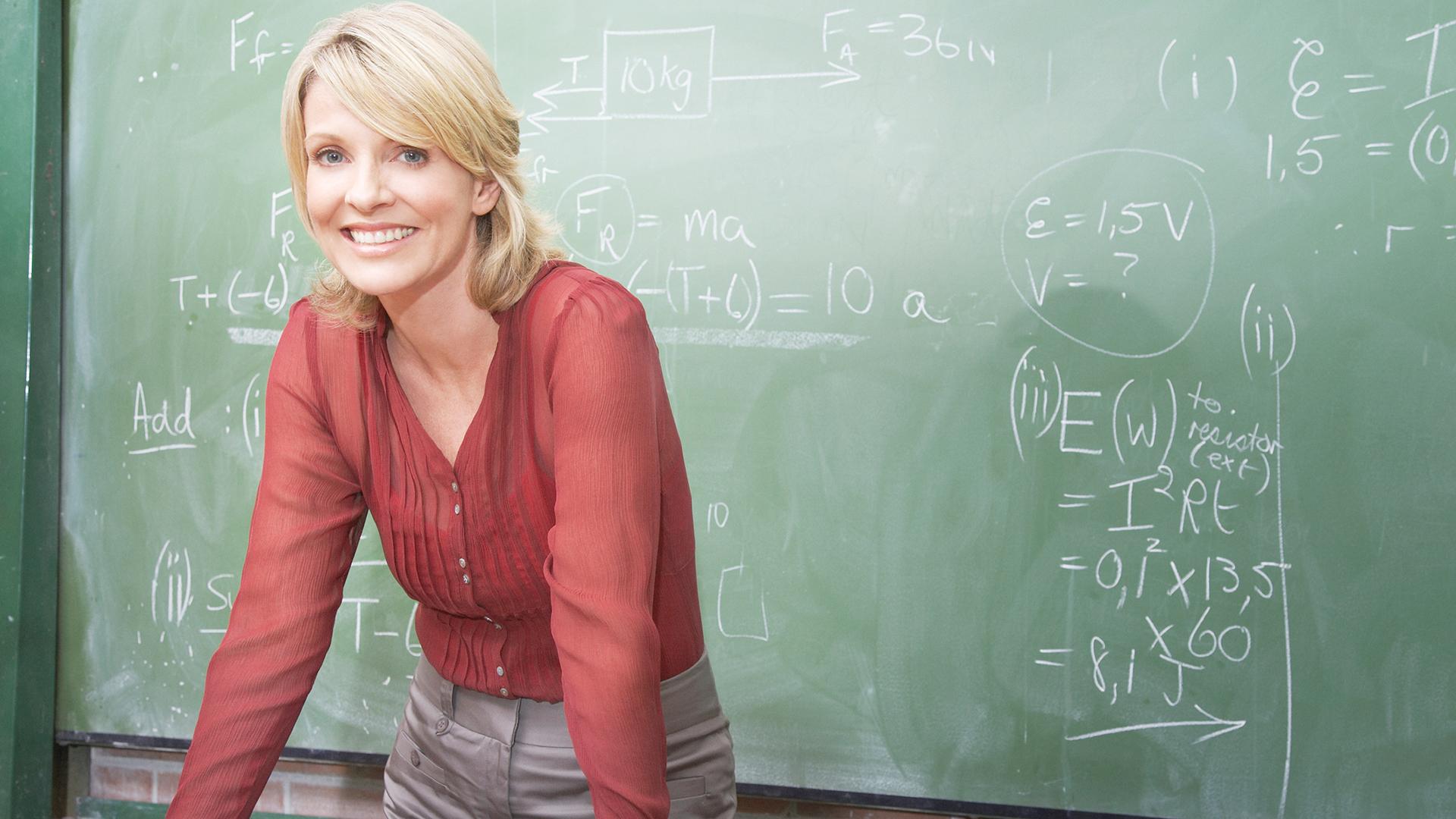 Math teacher   Sheknows.com