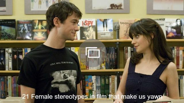 female stereotypes films slideshow