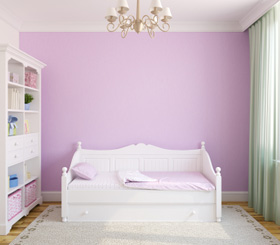 A Peaceful Child's Bedroom