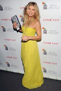 Fergie at 2011 Fifi awards