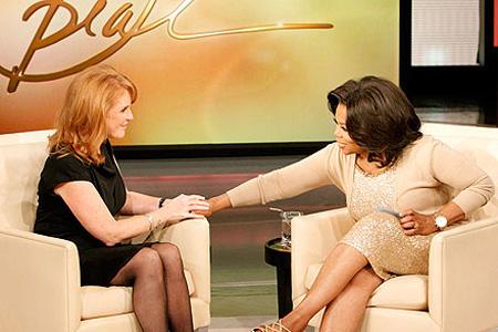Sarah Ferguson visits Oprah