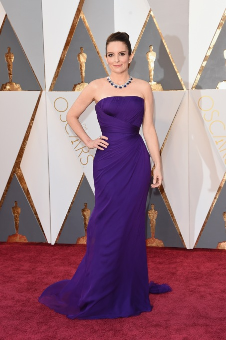 Ultra Violet On The Red Carpet | Tina Fey