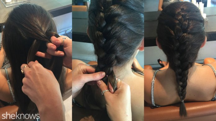 French braid tutorial: Learn how to