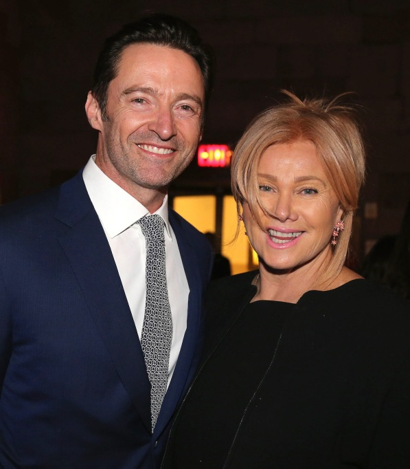 Deborra-lee Furness & Hugh Jackman at 2018 Windward School Benefit
