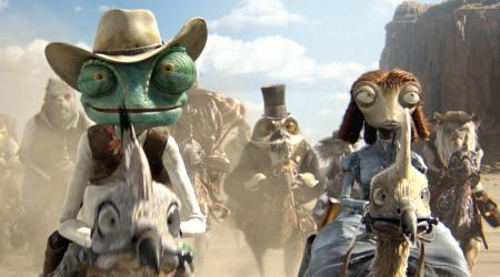 Rango slithers his way into number