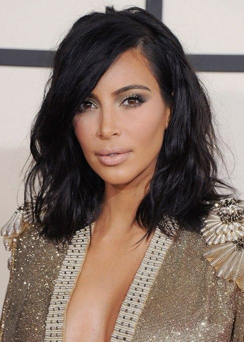 Kim Kardashian West Lob