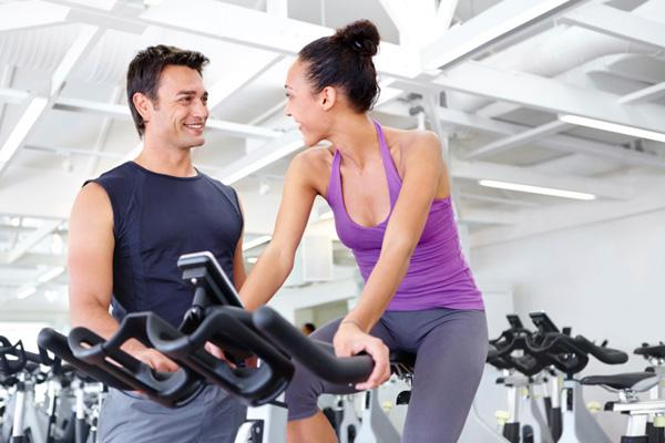 Women fall for their personal trainers