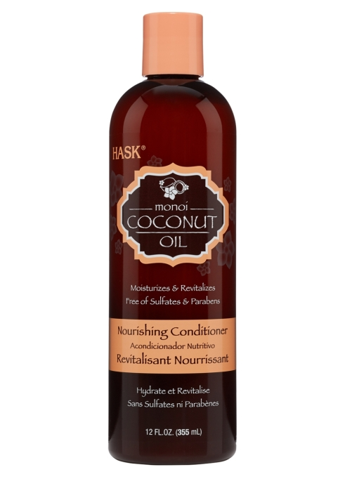 Best Coconut-Oil Beauty Products to Try Today: Hask Monoi Coconut Oil Nourishing Conditioner | Summer body care 2017