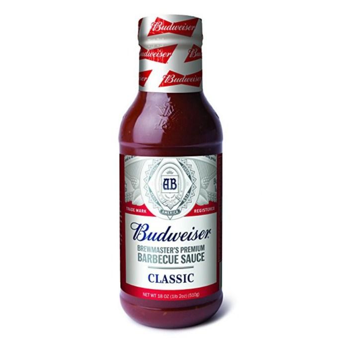 Budweiser BBQ Sauce