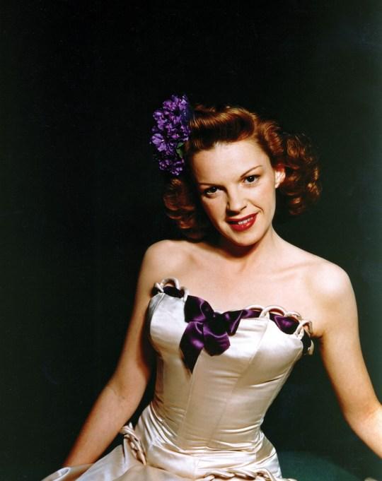 Judy Garland portrait from 1946