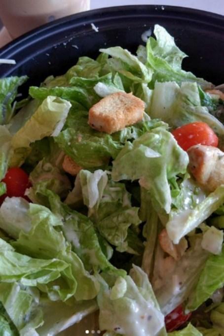 Costco Food Court: Chicken Caesar Salad
