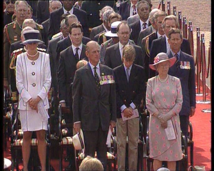 Queen Elizabeth II & Prince Philip in 1995