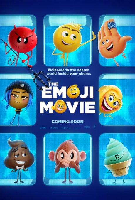 'The Emoji Movie' movie poster
