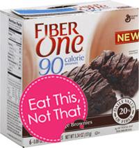 Fiber One Chocolate Fudge Brownies