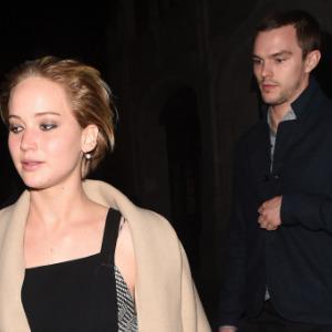 Jennifer Lawrence, Nicholas Hoult flaunt romance