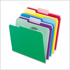 Pendaflex file folders
