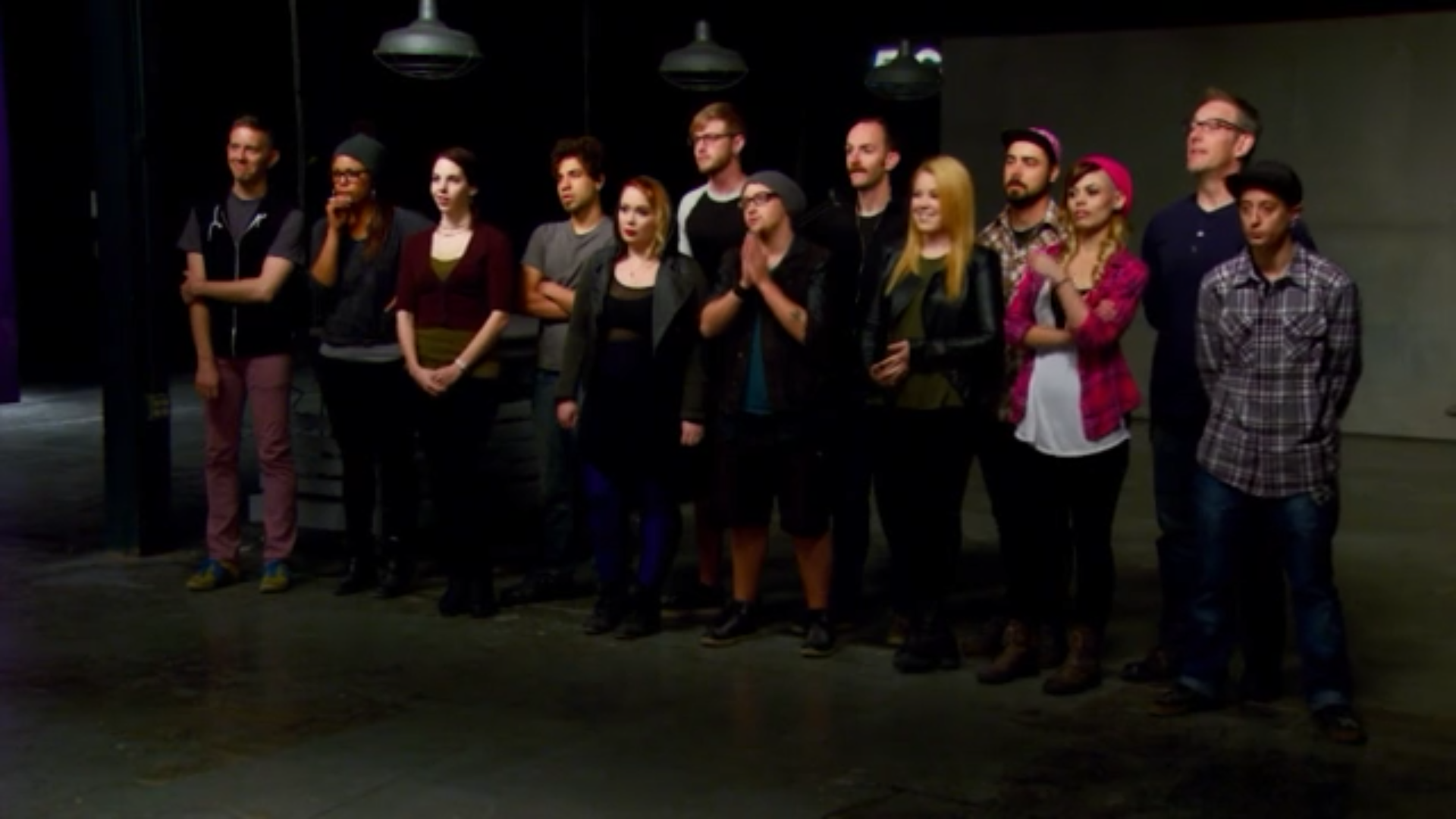 Final 13 Face Off contestants