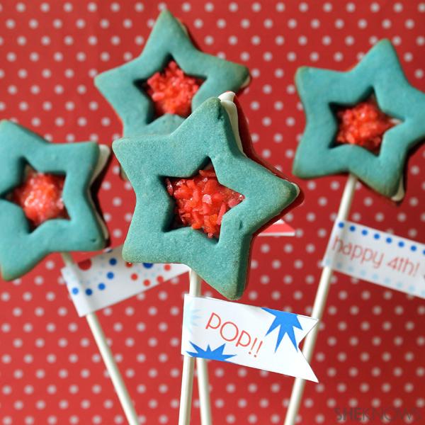 Final cookie pops