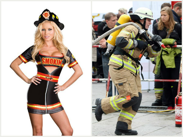 Smoking hot firefighter