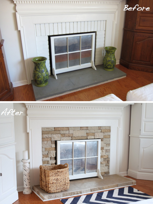 Before Amp After 15 Fireplace Surrounds Made Over Page 2
