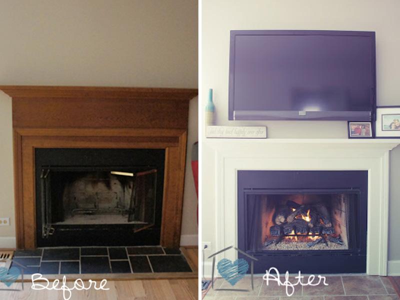 Naomi's fireplace