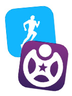 Fitness apps Runkeeper and Fitocracy