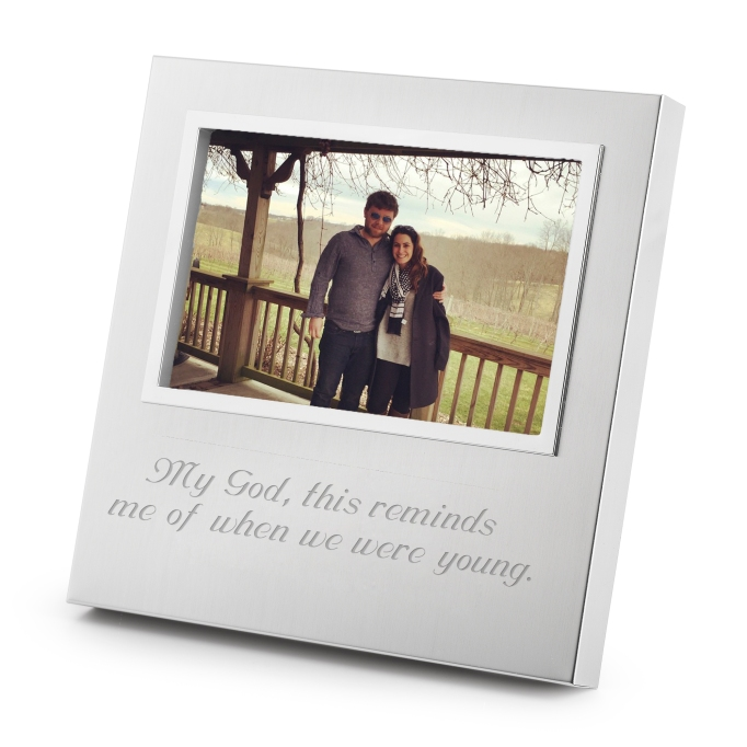 Adele picture frame