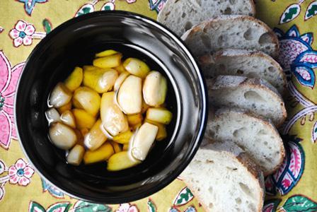 Garlic confit recipe and five ways