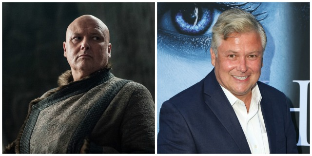 These 'Game of Thrones' characters look totally different in real life: Lord Varys vs. Conleth Hill