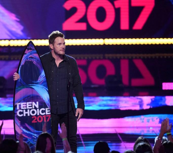 Things Chris Pratt's Done Since His Split: Teen Choice Awards