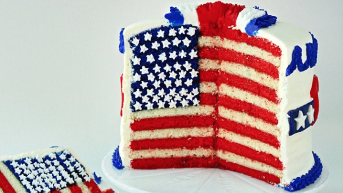 The flag cake that will make