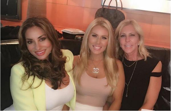 Vicki Gunvalson, Gretchen Rossi, Lizzie Rozvcek