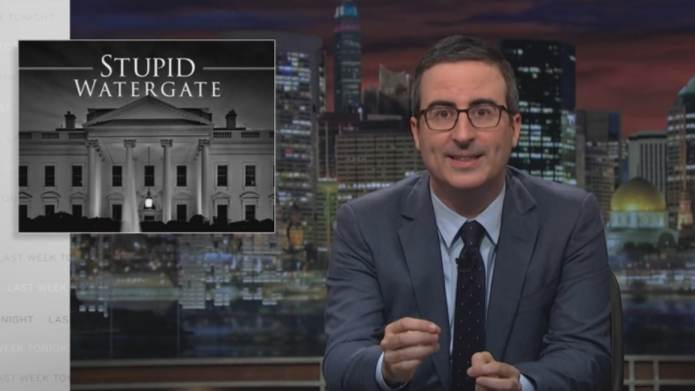 John Oliver Dumbs Down Trump Fiasco