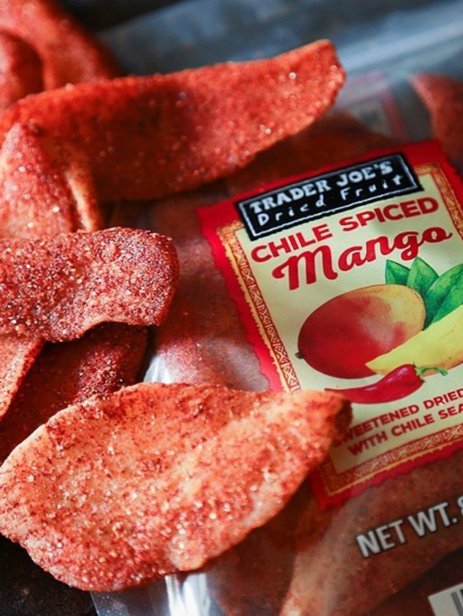 Trader Joe's Game Day Snacks: Chile Spiced Mango