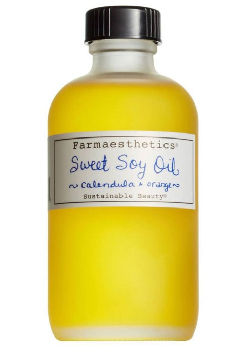 Body Oils To Layer Over Your Lotion: Farmaesthetics Sweet Soy Bath & Beauty Oil | Fall Skin Care