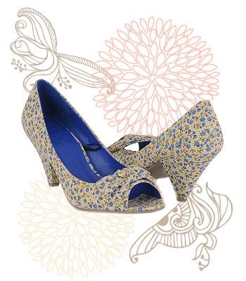 Floral heels, $22.80 at Forever 21
