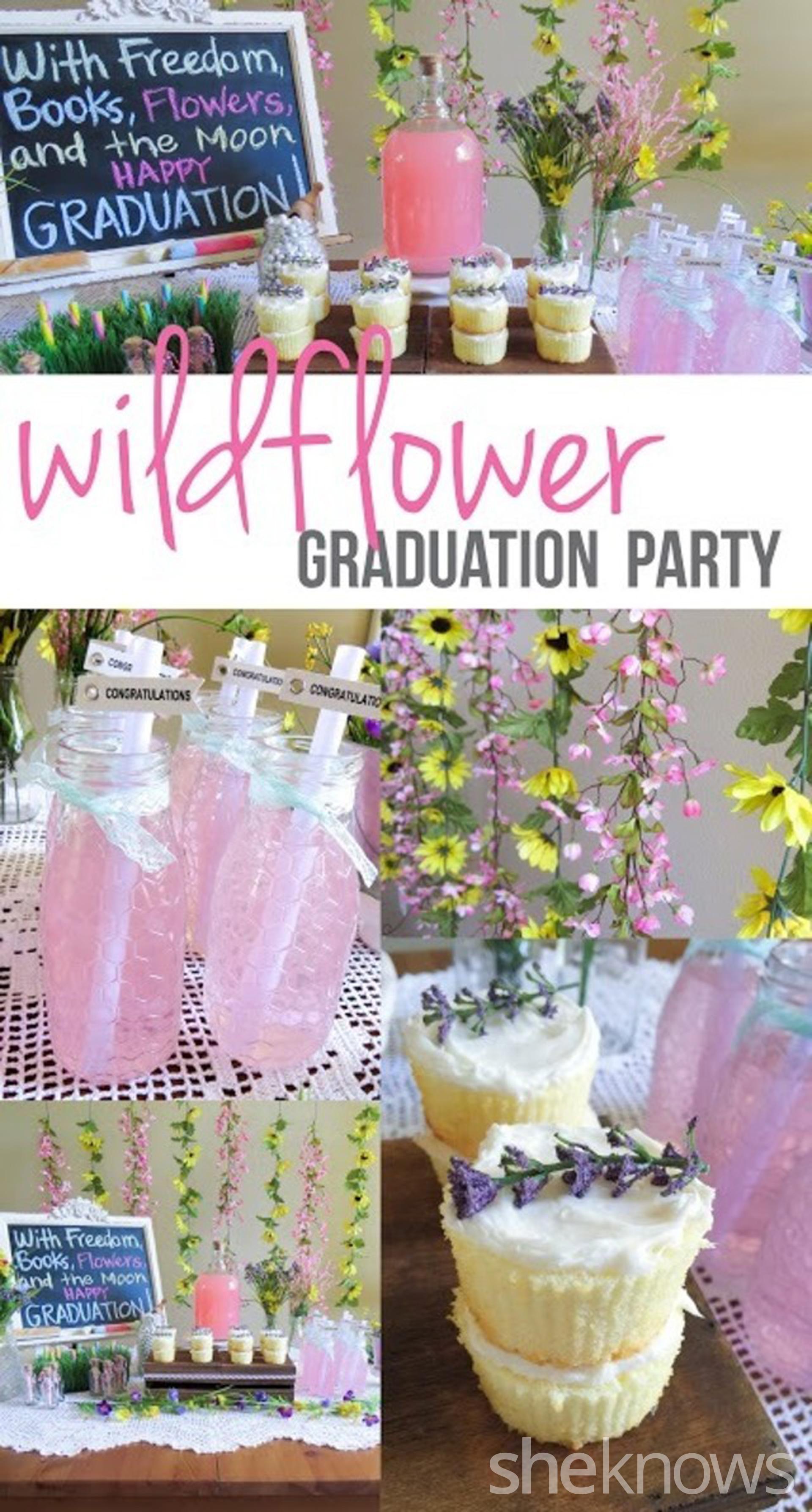 Wildflower Graduation Party
