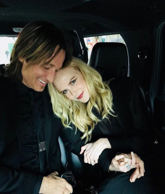 Nicole Kidman & Keith Urban at the AMC Awards