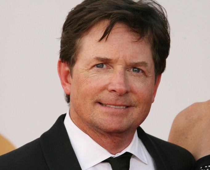 Michael J. Fox on red carpet
