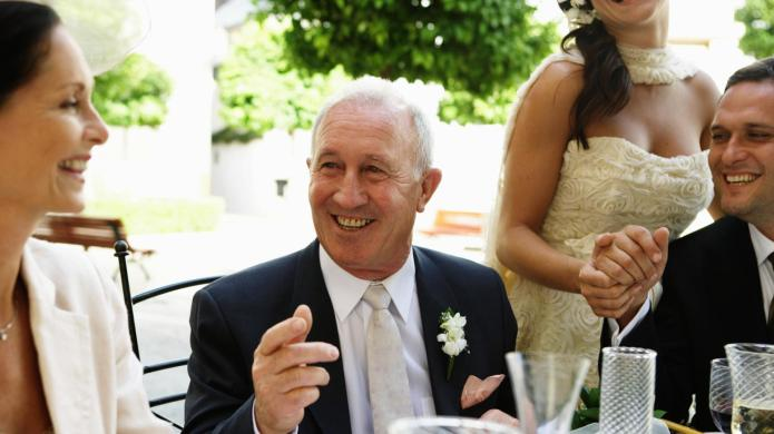Tear-jerking father-of-the-bride speeches