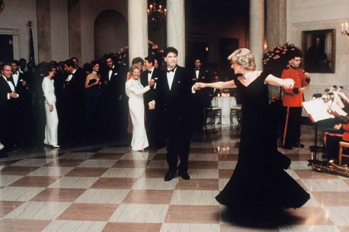 Iconic photos of Princess Diana: Diana dancing with John Travolta