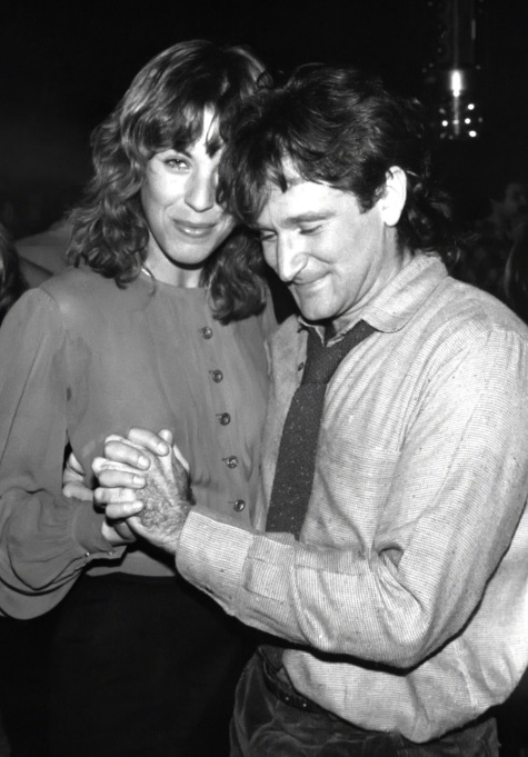 Robin Williams and Valerie Velardi 1979