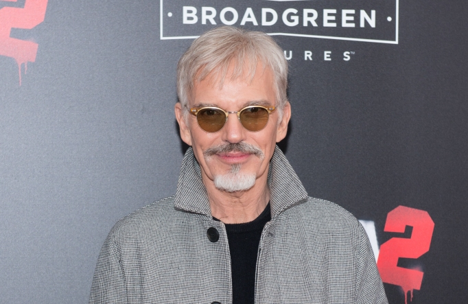 Billy Bob Thornton on the red carpet at the Bad Santa 2 premiere