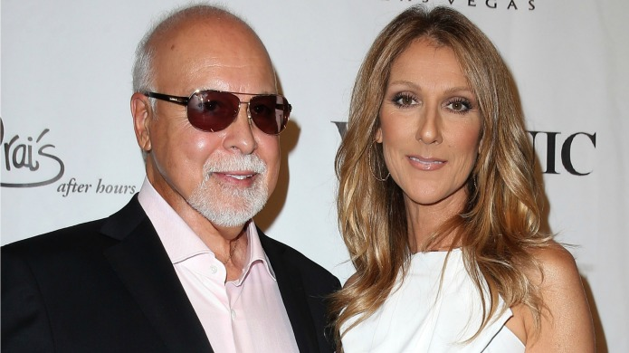 Céline Dion's reaction to her husband's