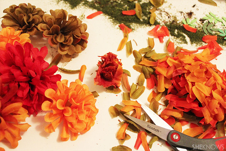 Cut Flowers for Leaves