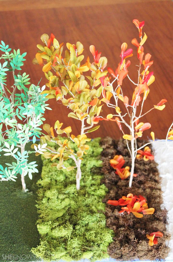 Changing Seasons - Make a Fall Foliage Diorama