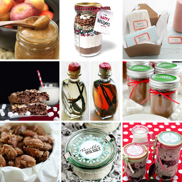 Handmade holiday gifts for foodies