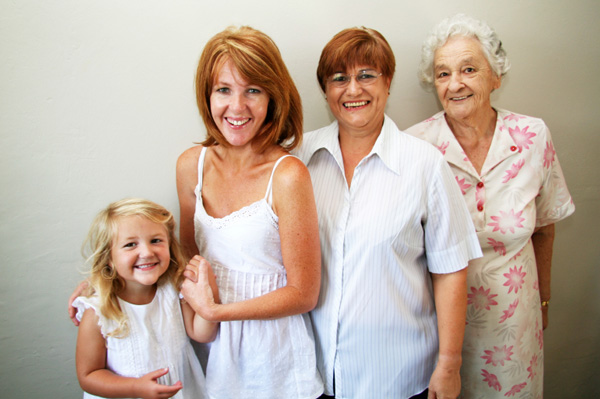 Four Generations of Woman