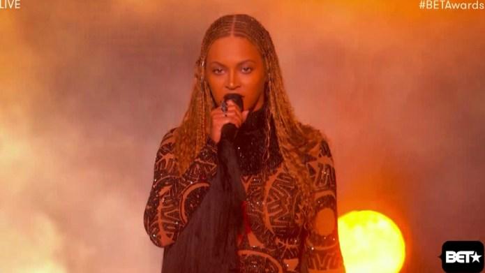 Beyoncé's daughter, Blue Ivy, just did